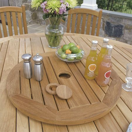 Home Dzine Lazy Susan Rotating Dining Tables Dining Dining