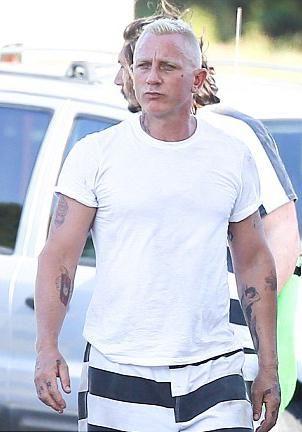 Daniel Craig change de couleur de cheveux