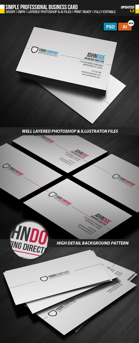 15 Premium Business Card Templates (In inside
