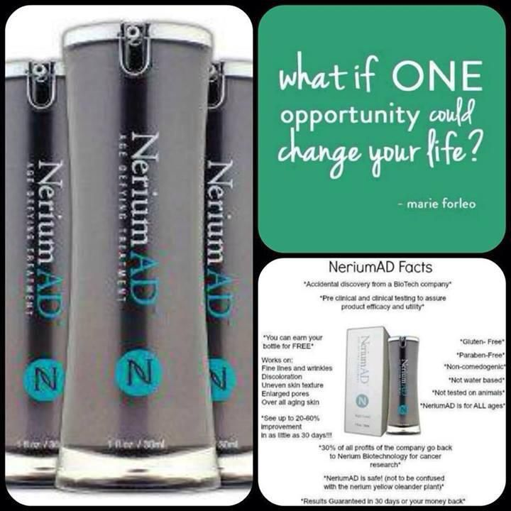 Nerium International residual income business opportunity will change the lives of any individual who simply follows the proven system.  What would you do if money was not an issue? #debtfree #Dreams Terrilinholz.arealbreakthrough.com