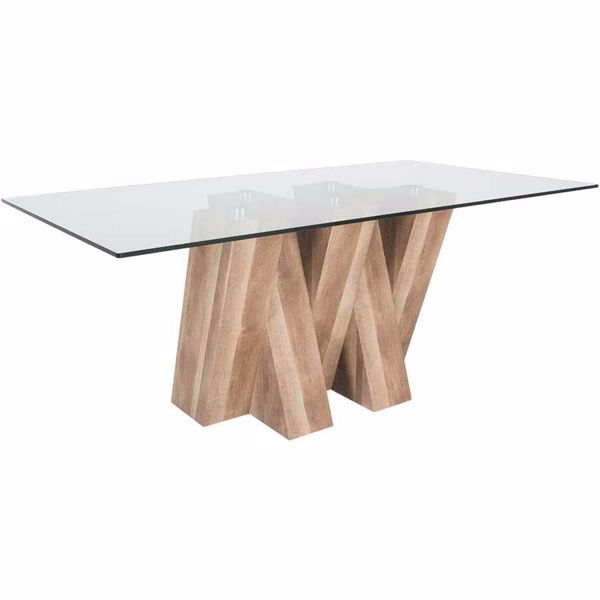 Enjoy Family Dinners At The Glass Top Dining Table By Dining Tables That Look Great Tra Dining Table Decor Modern Dining Table Rustic Glass Top Dining Table