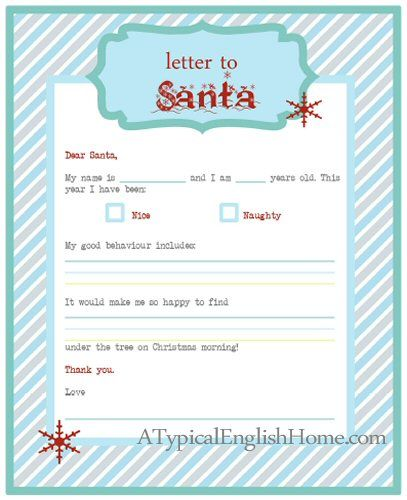 adorable love this letter to santa free printable a