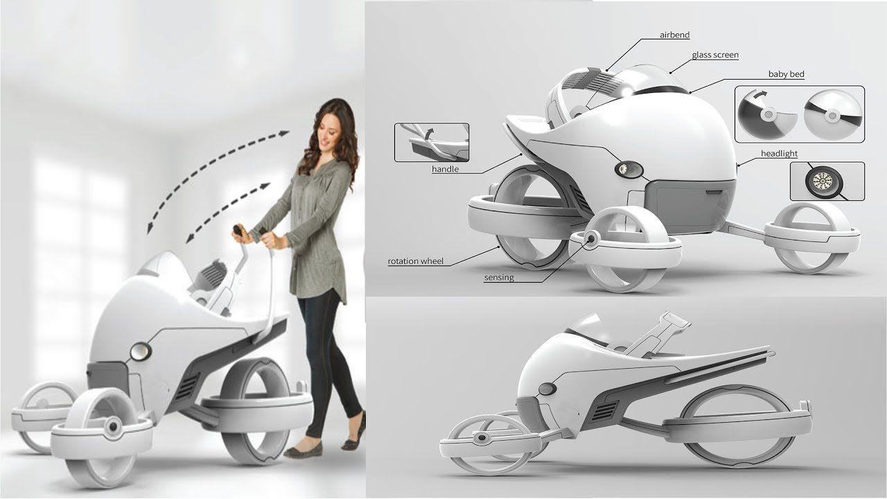 futuristic baby stroller cheap online