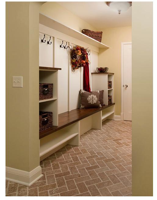 Mudroom Folo From Houzz Com House Flooring Bedroom Flooring Rustic Flooring