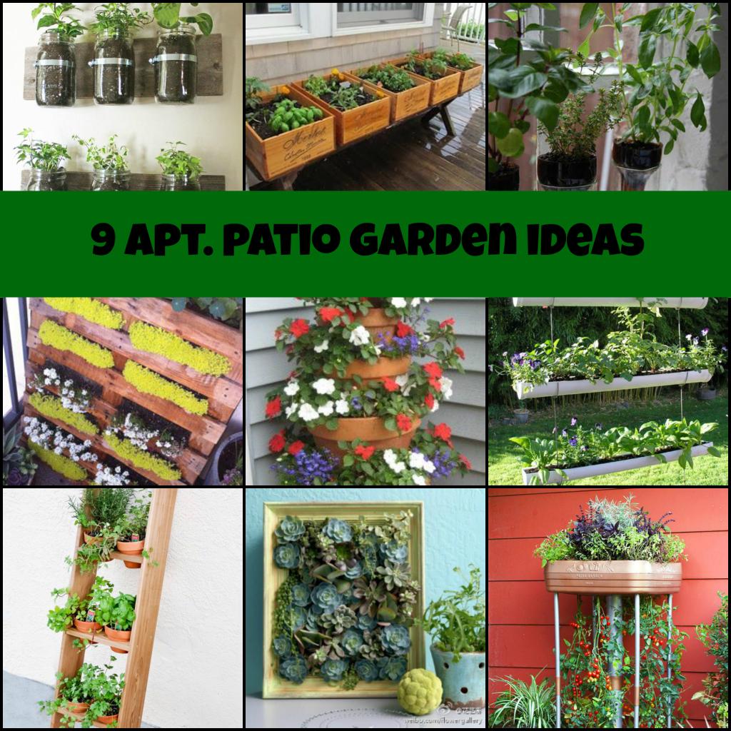Apartment Patio Garden Ideas | Down Home Traveler | Gardening ...