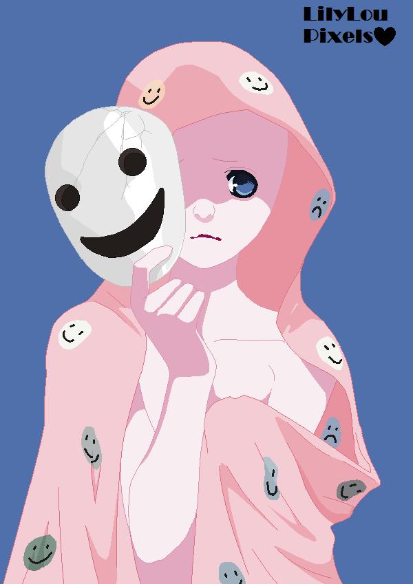 A Sad Anime Base..: FILLED IN! by HomNomsterXD on DeviantArt  |Anime Sad Base