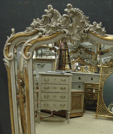 Antique Mirror Reflections From Www Jasperjacks Com