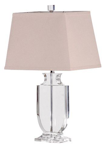 Large Clear Crystal Urn Table Lamp With Shade 61cm £197 Harvestmoon (FAV)