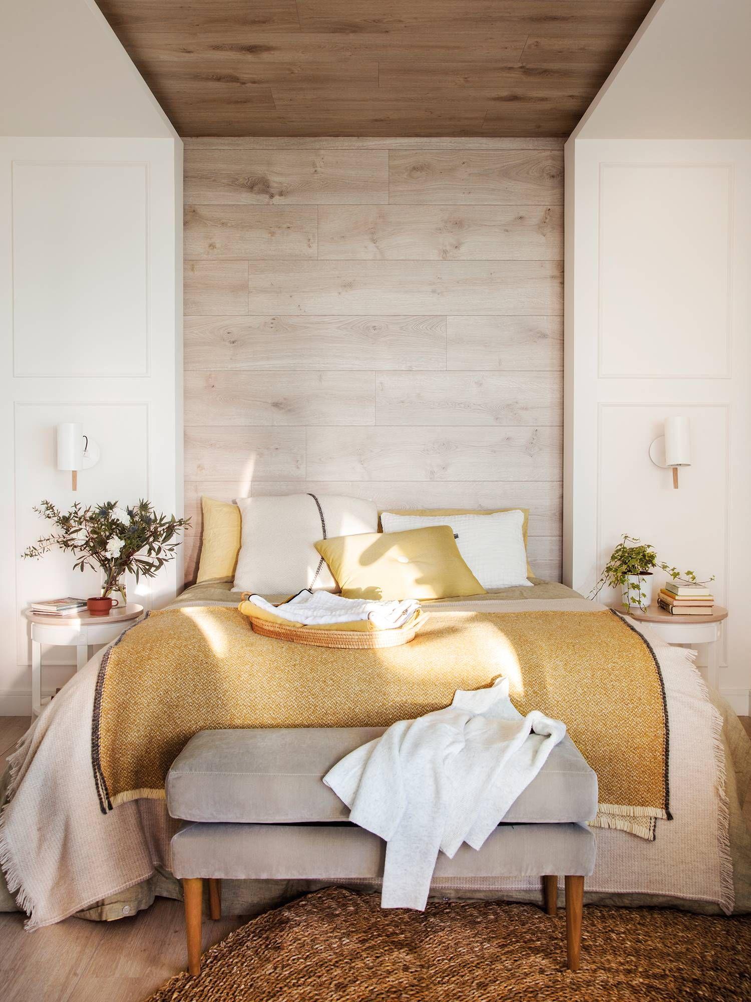 Muy natural en 2019 decorar con telas dormitorio de - Decoracion natural interiores ...