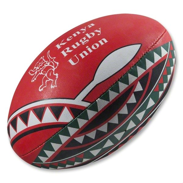 Gilbert Kenya Supporters Rugby Ball Rugby Ball Rugby World Rugby