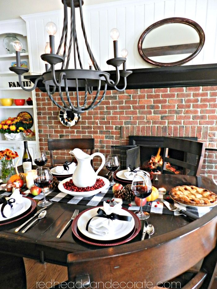 cozy fall home tour thanksgiving table dollar stores and tablescapes rh pinterest com