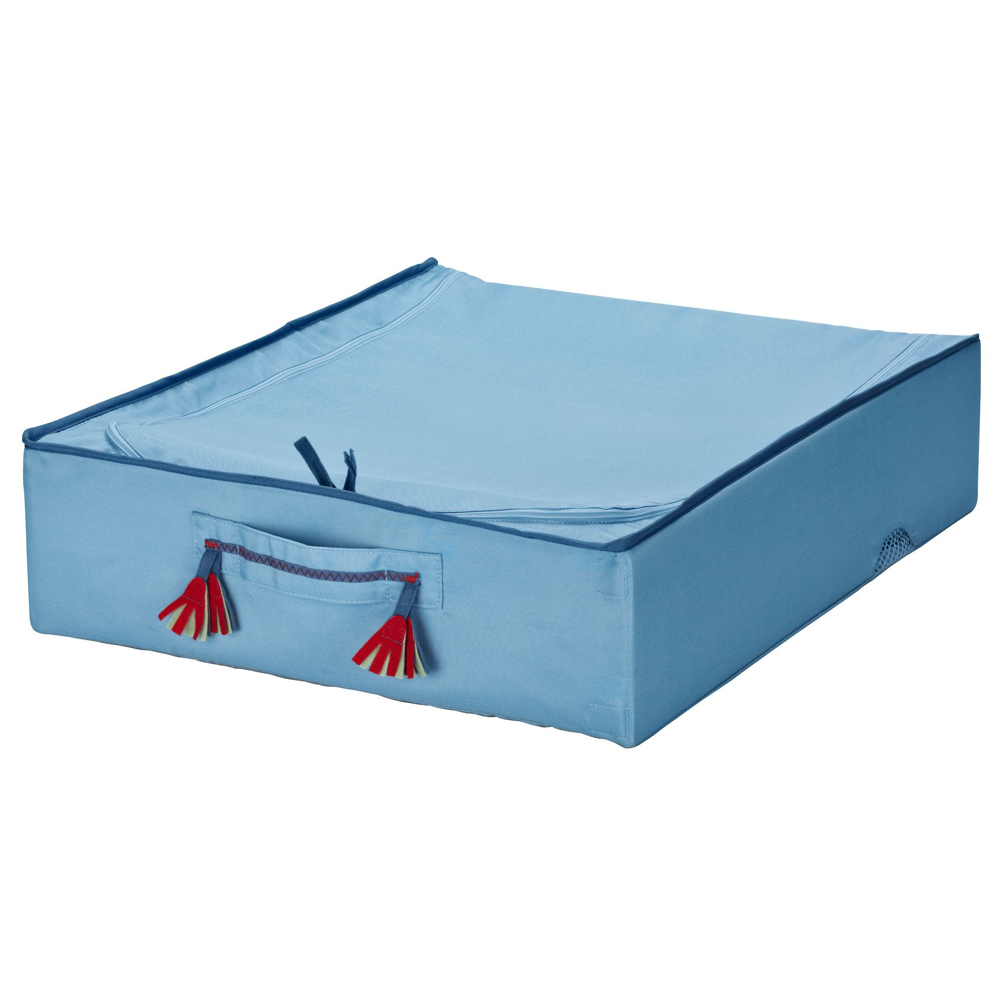 IKEA   PYSSLINGAR, Underbed Storage Box, , Practical Storage For Toys,  Extra Blankets Etc.Can Be Folded To Save Space When Not In Use.