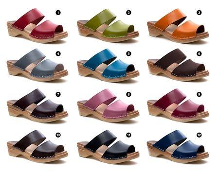 408595770f91b Troentorp Karin Clog Sandals - 12 Colors!