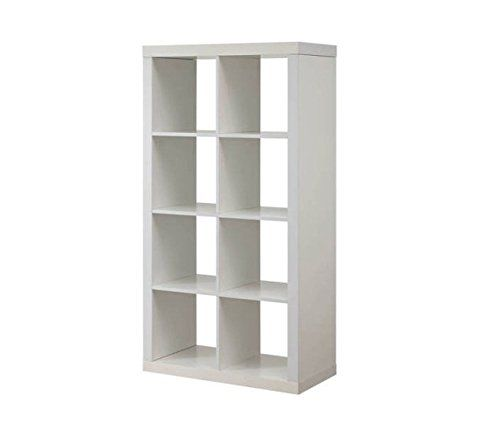 Better+Homes+and+Gardens+Furniture+8-Cube+Room+Organizer+Storage+Divider/Bookcase+White+by+N/A