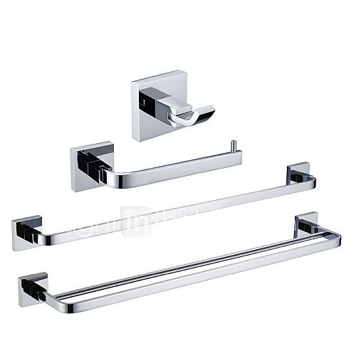 Bathroom Accessory Set Contemporary Brass Chrome  Bathroom Unique Chrome Bathroom Accessories Design Ideas