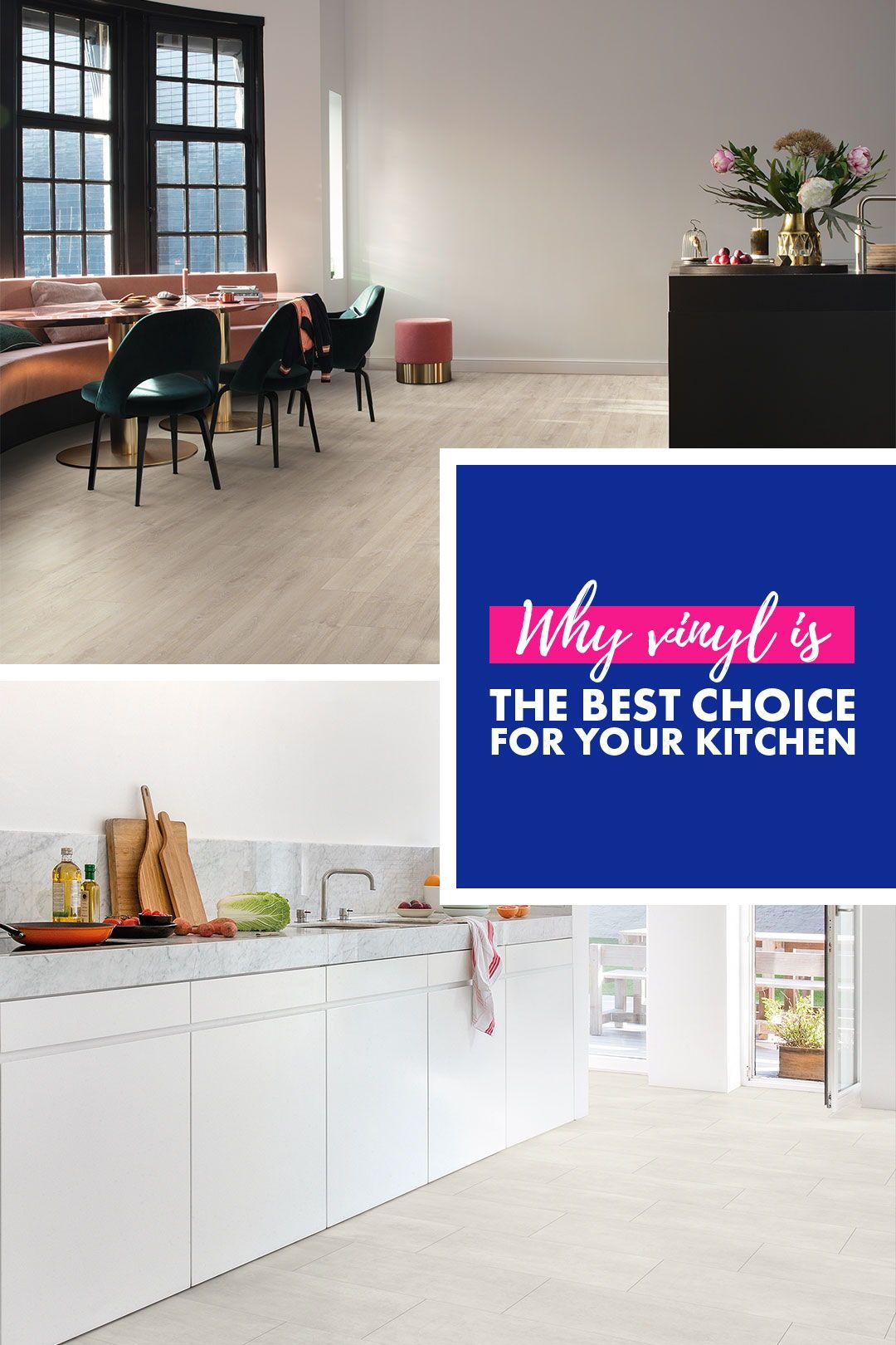 time for a new kitchen floor discover the benefits of vinyl flooring quick step vinyl on kitchen remodel vinyl flooring id=79148