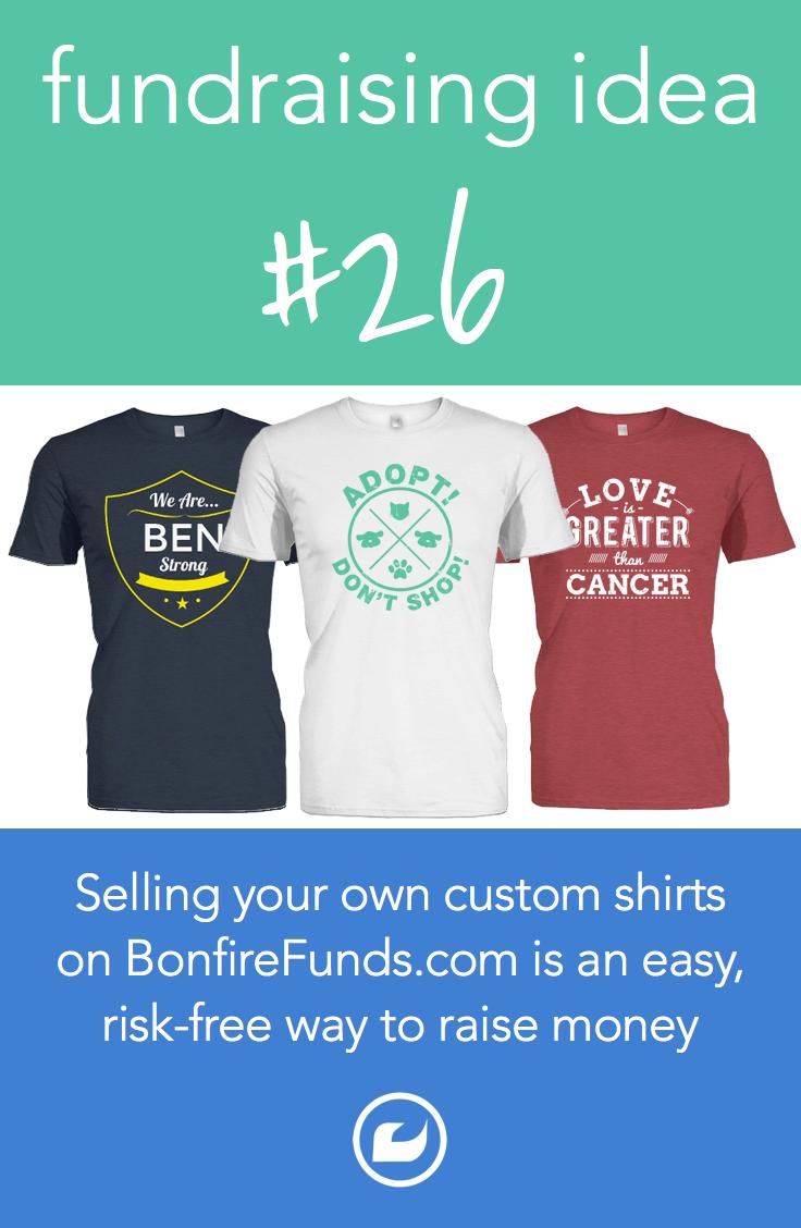 pin by bonfire on t-shirt fundraising | pinterest | fundraising, t