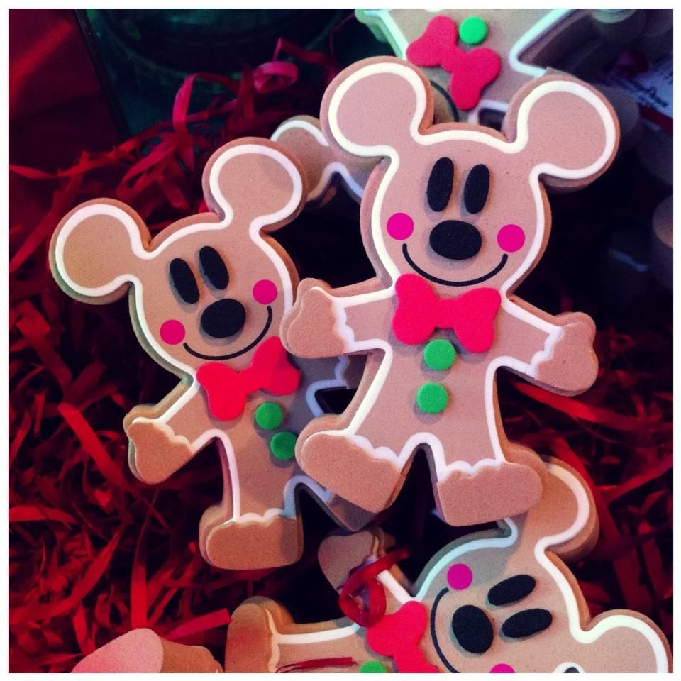 Gingerbread Mickey Disney antenna toppers Disney