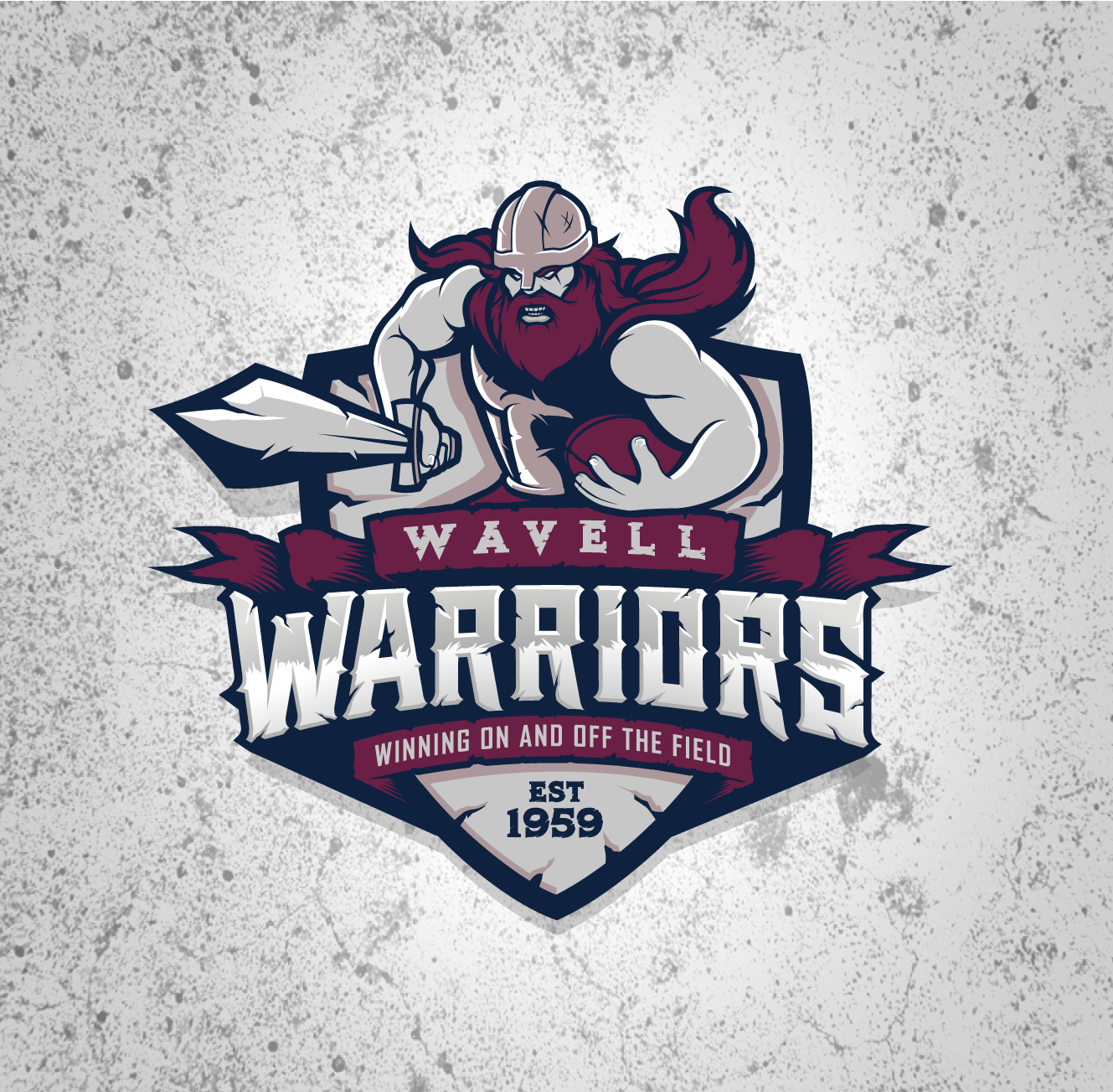 Wavell Warriors Rugby Team logo for Wavell State High