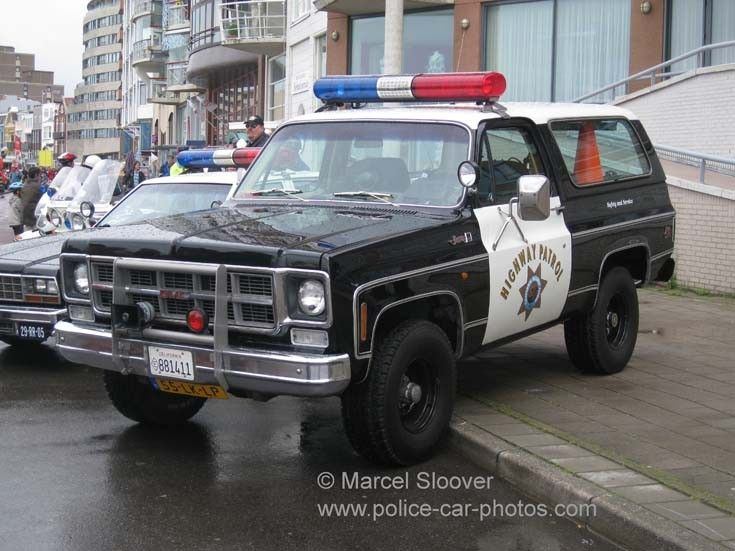 police car photos   gmc jimmy california highway patrol