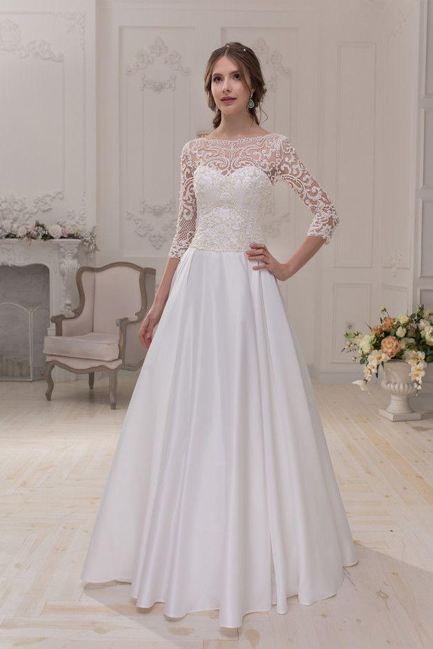 Wedding Dress Hochzeitskleid Brautkleid BRENDA | Pinterest ...