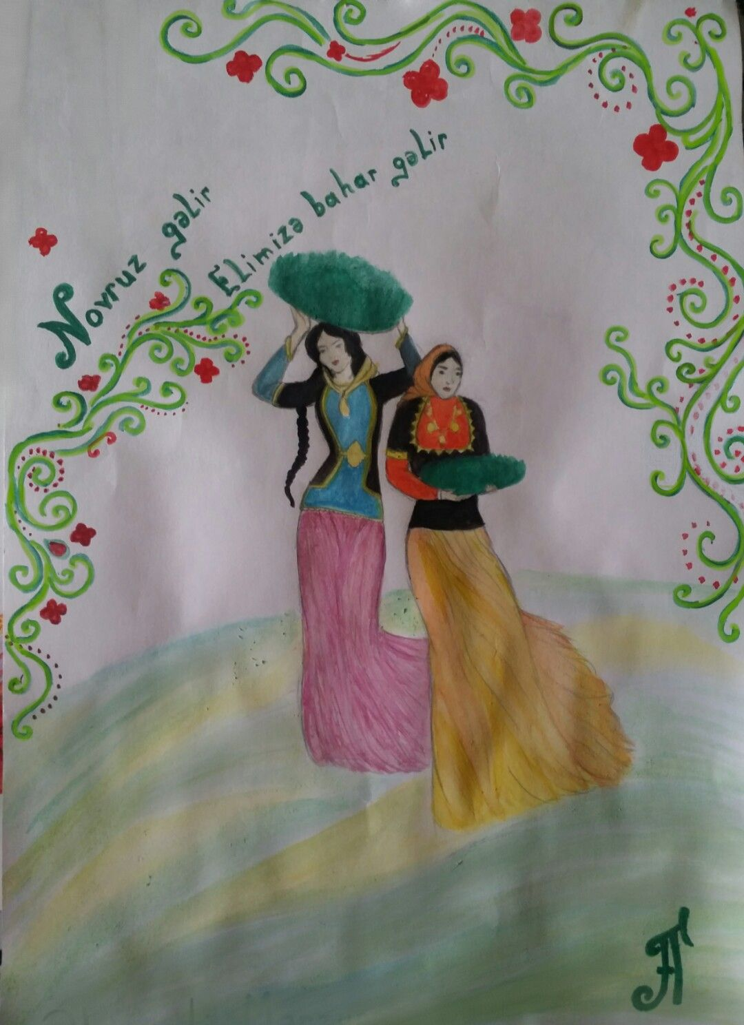 Novruz Bayrami Art Painting