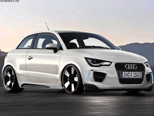 Audi A1 Tuning Audi A1 Audi A1 White Audi