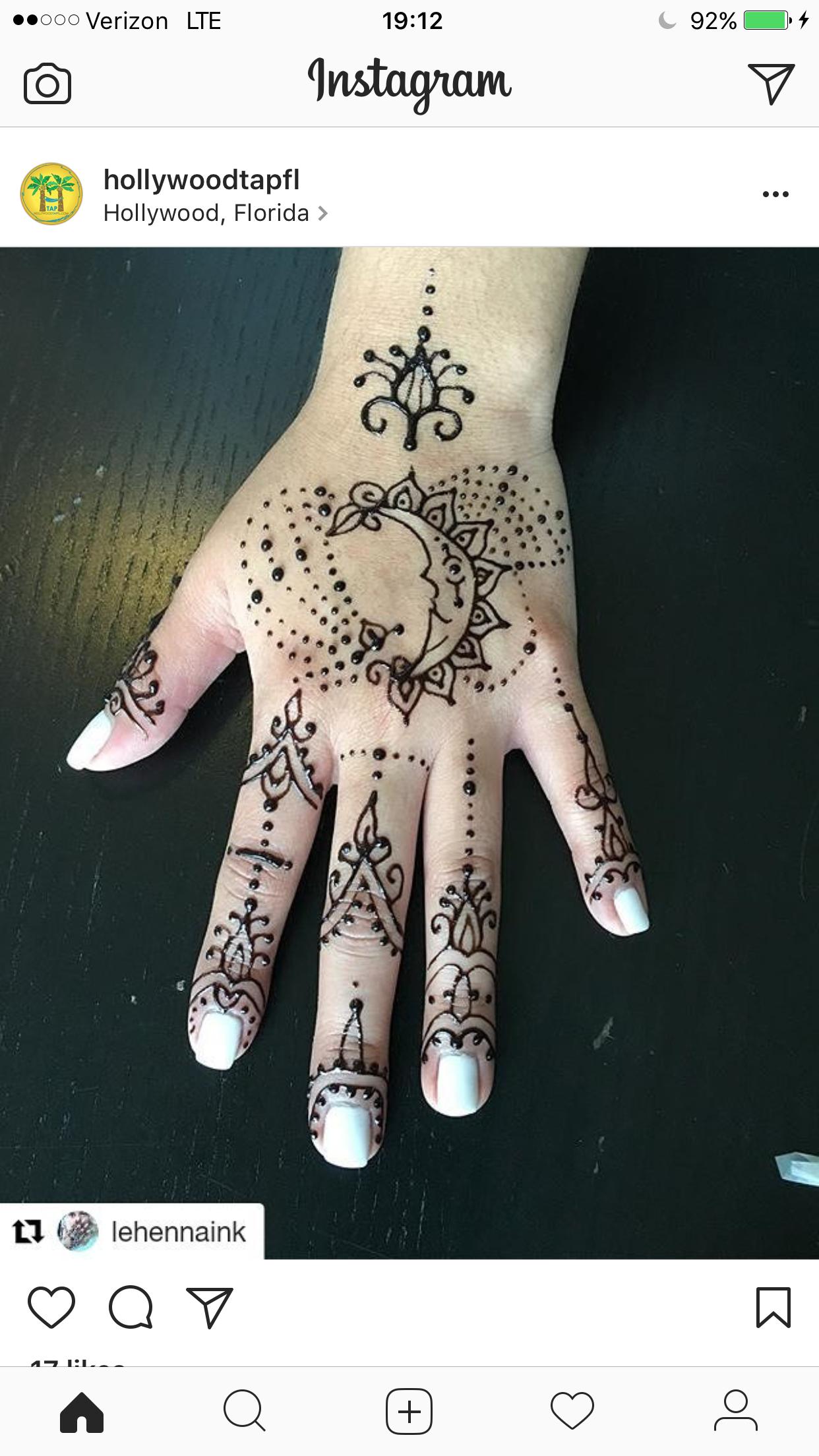 Pin by Stacy Jordan on Henna Henna tattoo, Henna hand