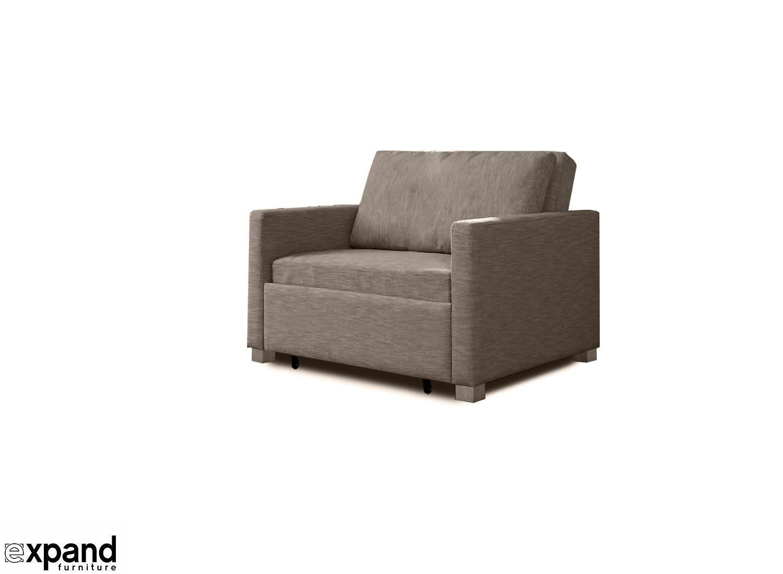 Harmony Single Sofa Bed With Memory Foam Sofa Bed Single Sofa