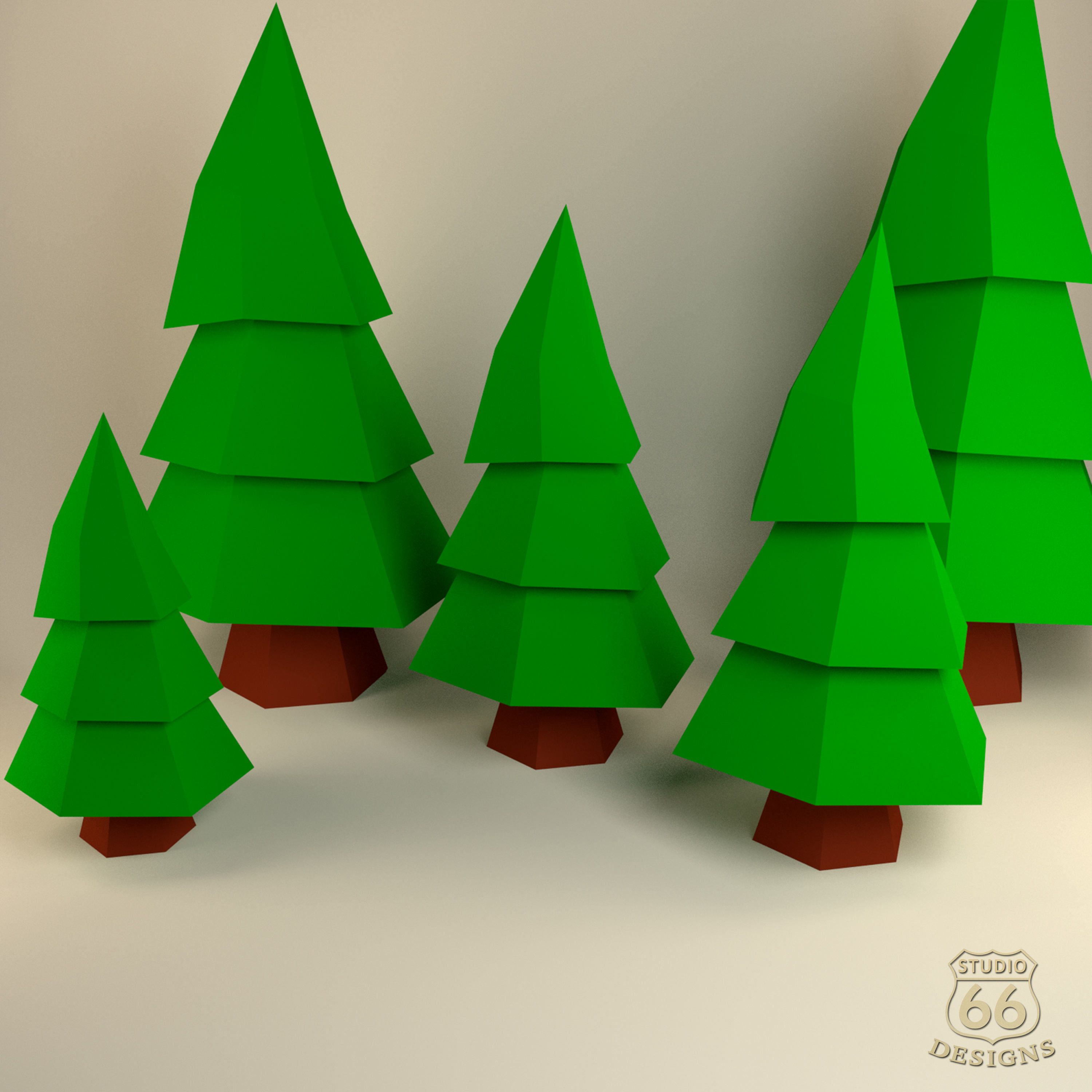 Christmas Tree Papercraft Tree Paper Tree Happy New Year Papertoy Home Decor Christmas 3d Papercraft Model Lowpoly Diy Hobby Idea In 2020 Paper Tree Paper Crafts Diy Paper