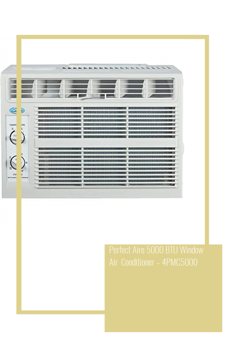 Perfect Aire 5000 BTU Window Air Conditioner 4PMC5000
