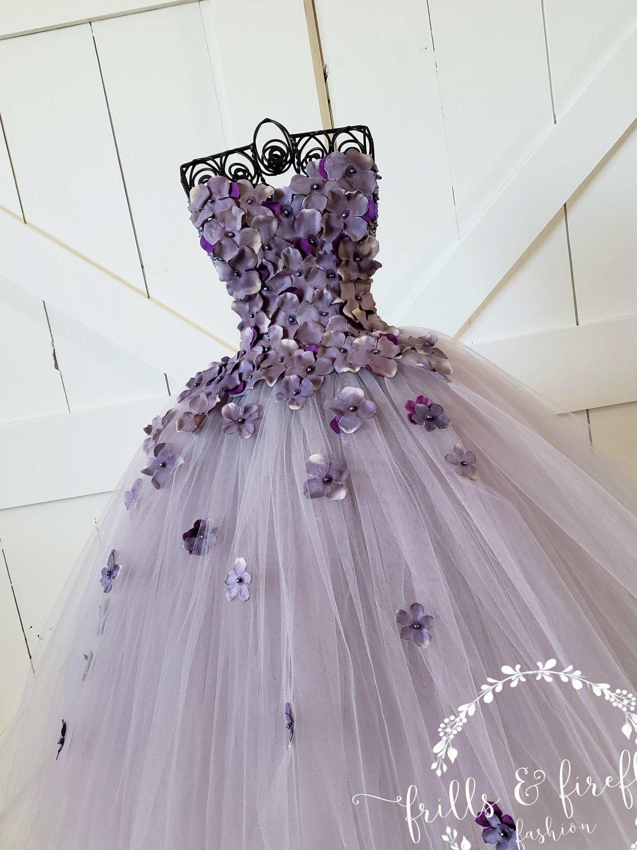 Purple Flower Girl DressFlower Girl DressBridesmaid DressProm DressSimple Wedding DressGirls DressesPrincess DressFormal Dress