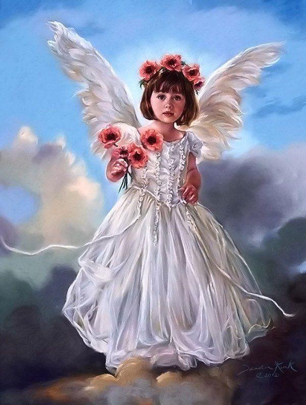 Анимации картинки с ангелами