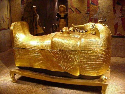 A0 SIZE CANVAS PRINT massive egypt  egyptian tutankhamun gold king