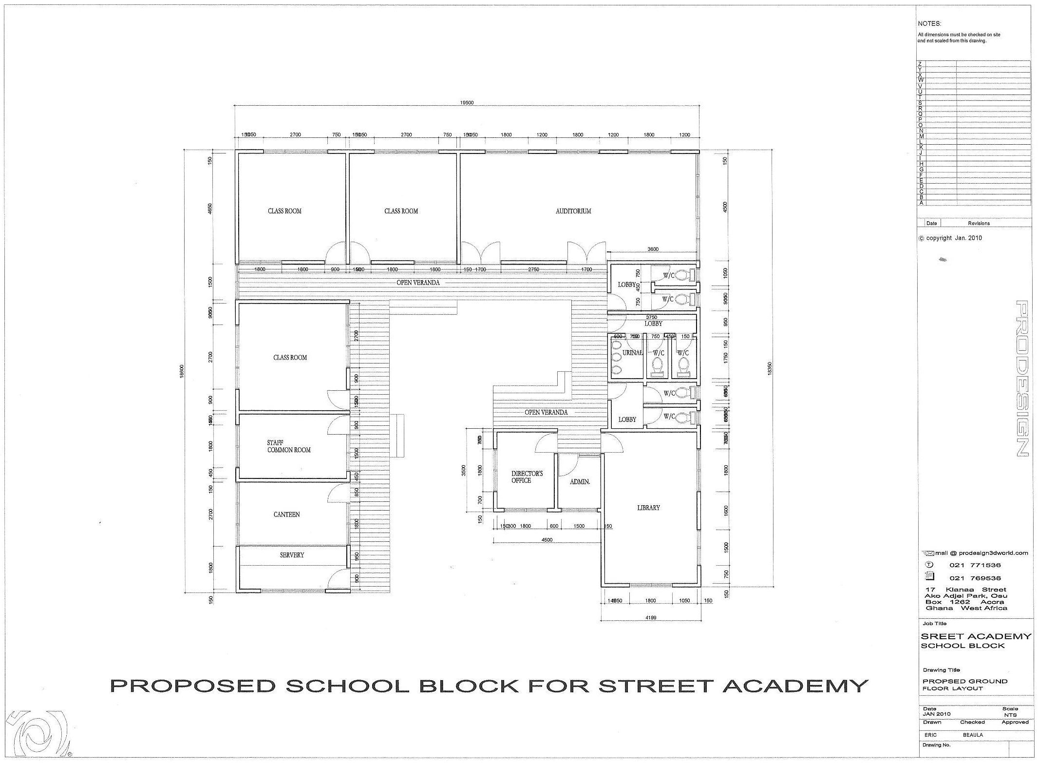 Floor Plan Drawing School School Floor Plan School Building Design School Building Plans