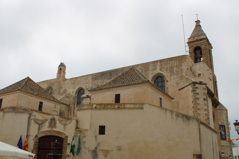 exterior del templo de Nuestra Señora de la O en Rota