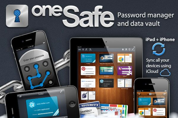 oneSafe for iPhone App Review Iphone apps