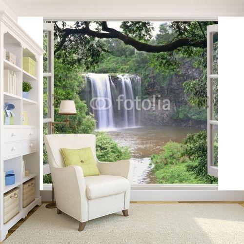 Dangar falls view in open window mamurale com
