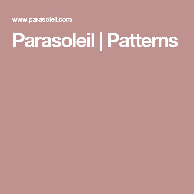 Parasoleil | Patterns