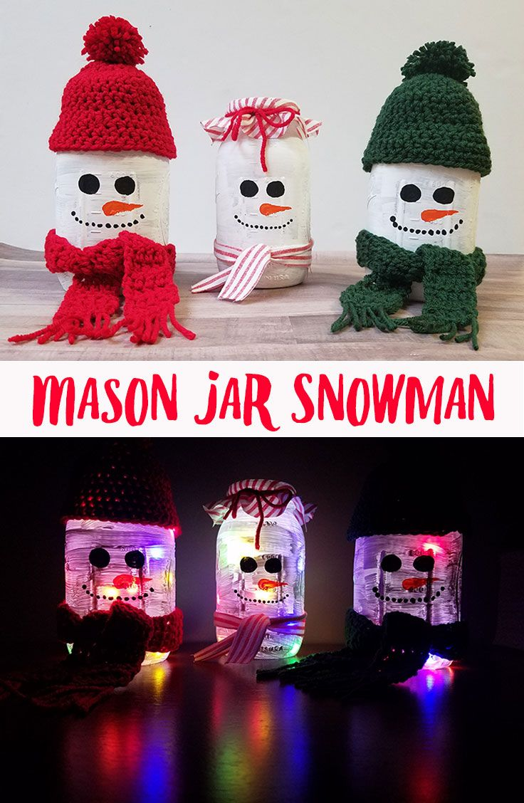 A perfect craft for Christmas or winter