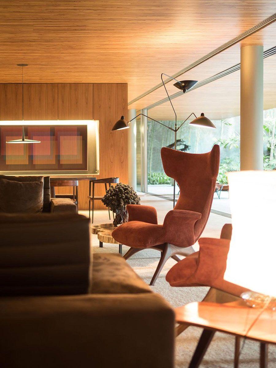 Living rooms Ramp House by Studio mk27