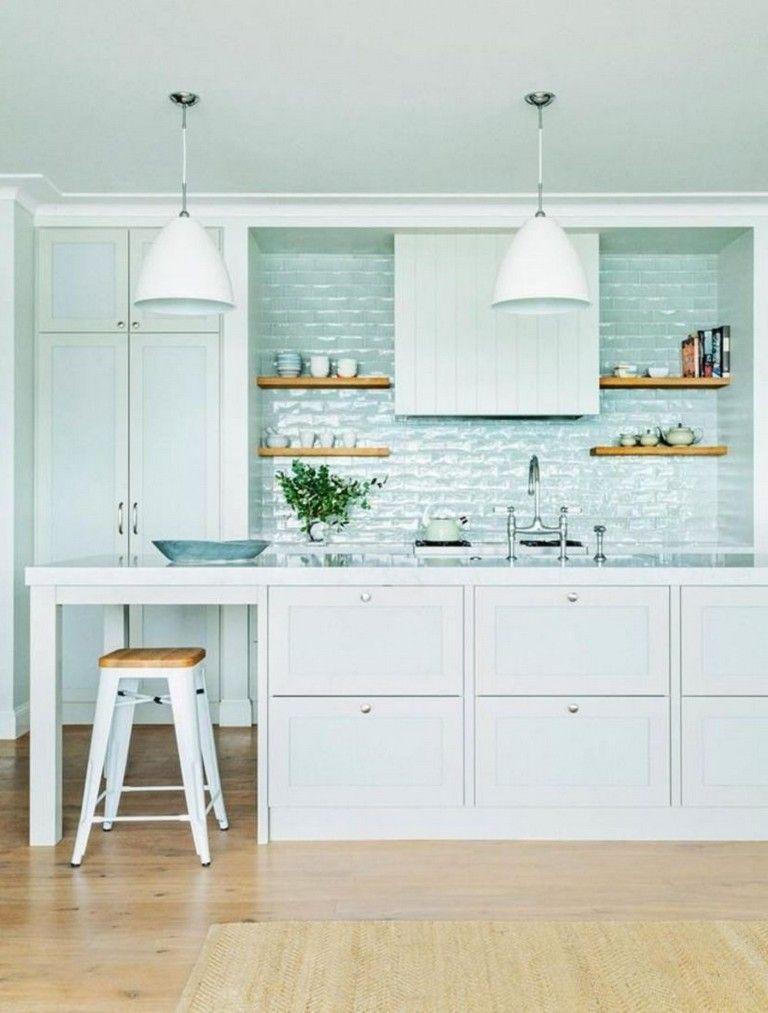 42 Awesome Modern Coastal Kitchen Design Ideas Coastal Kitchen Design Modern Kitchen Design Kitchen Inspiration Design