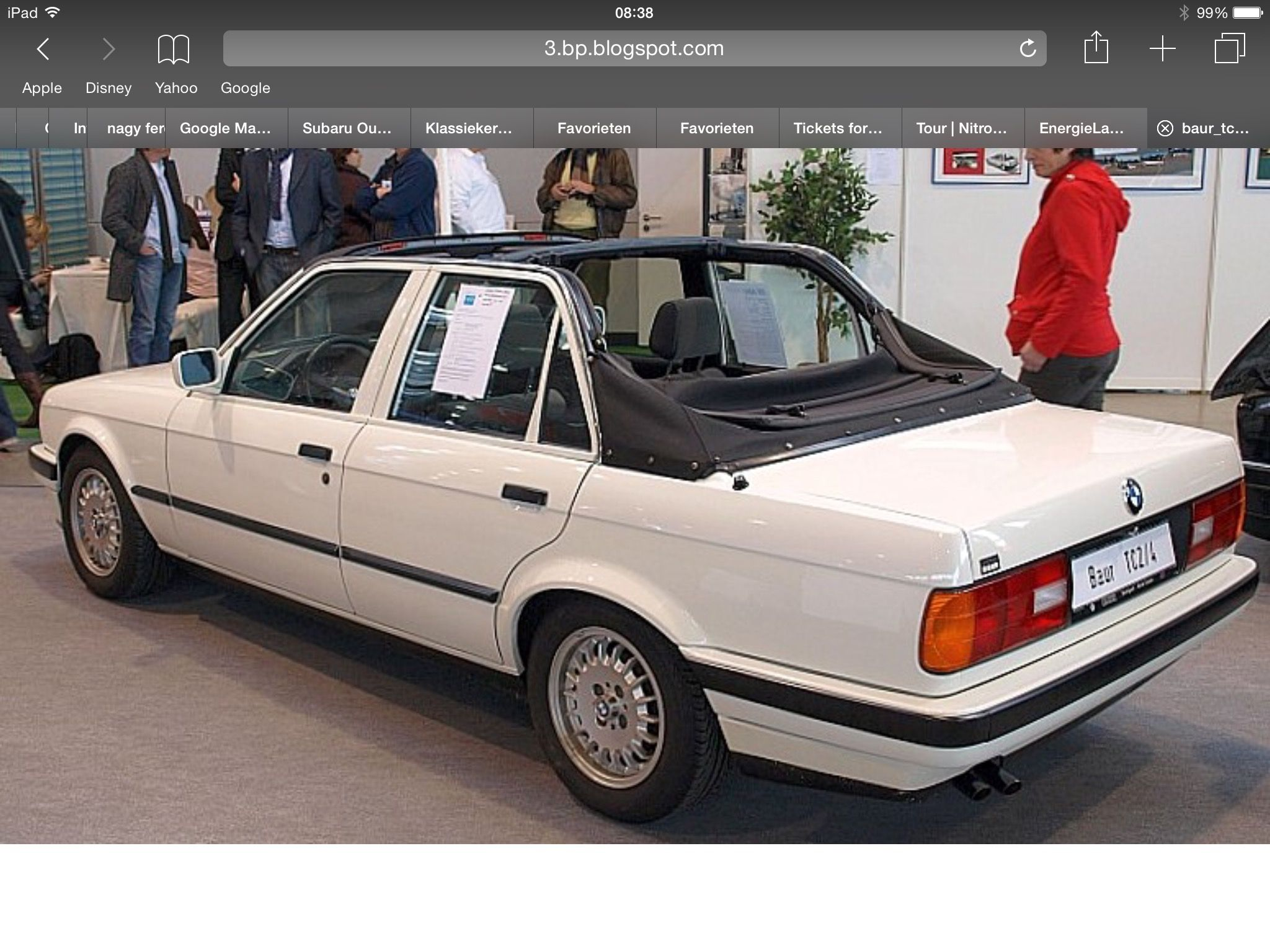 Bmw E30 Tc2 4 Door Only One Made