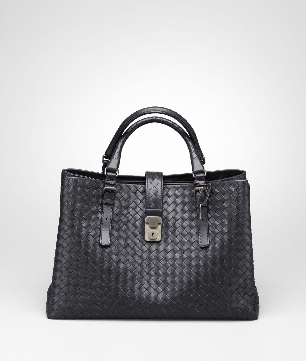 5d26456ce789 ATLANTIC CALF INTRECCIATO ROMA BAG - Women s Bottega Veneta® Top Handle Bag  - Shop at the Official Online Store
