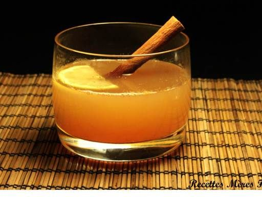 punch d licieux recette miam miam cocktail drinks. Black Bedroom Furniture Sets. Home Design Ideas