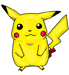 Cool Cartoon Drawing For Kids Pikachu