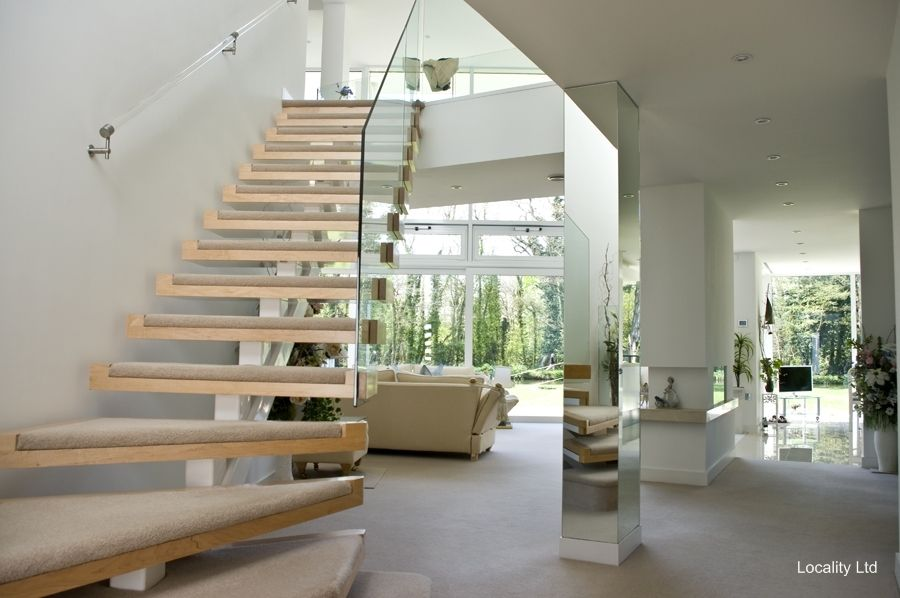 Hallway stairs open plan living room loc 2581 grand stairs and entrance halls pinterest for Open plan hallway and living room
