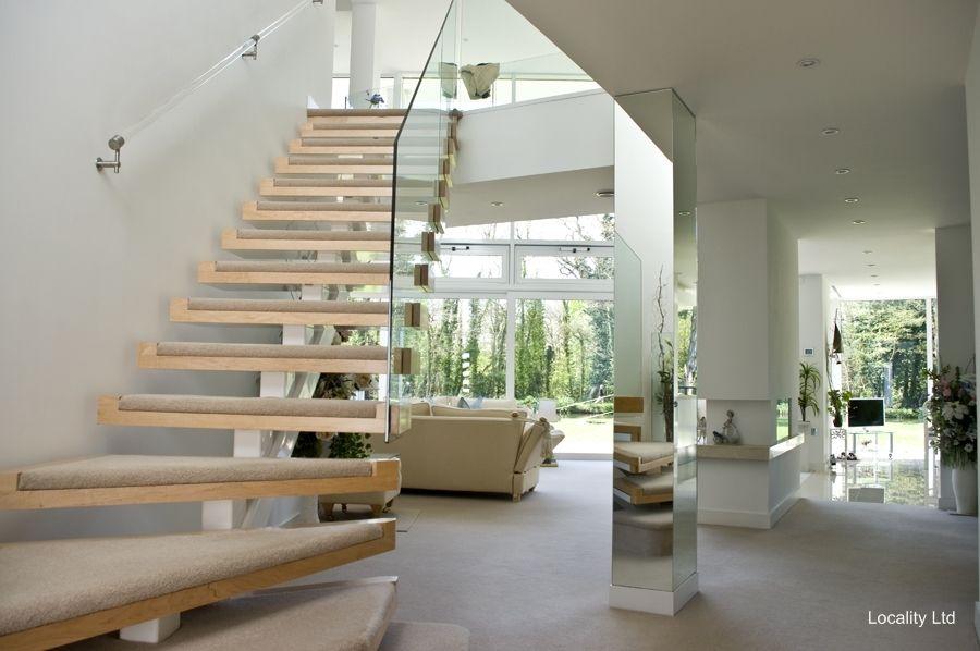 Etonnant Room · Hallway, Stairs, Open Plan, Living ...