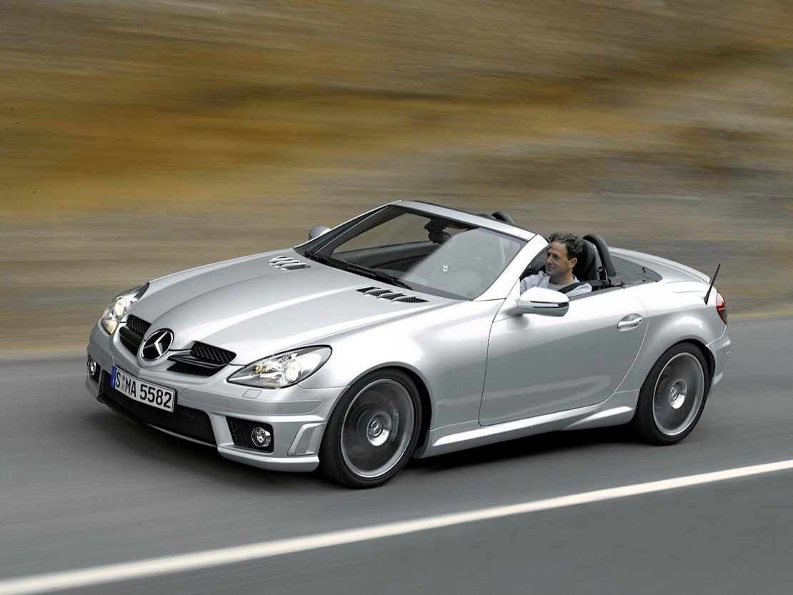 Mercedes Benz Slk Ii 200 Kompressor With Images Mercedes Slk