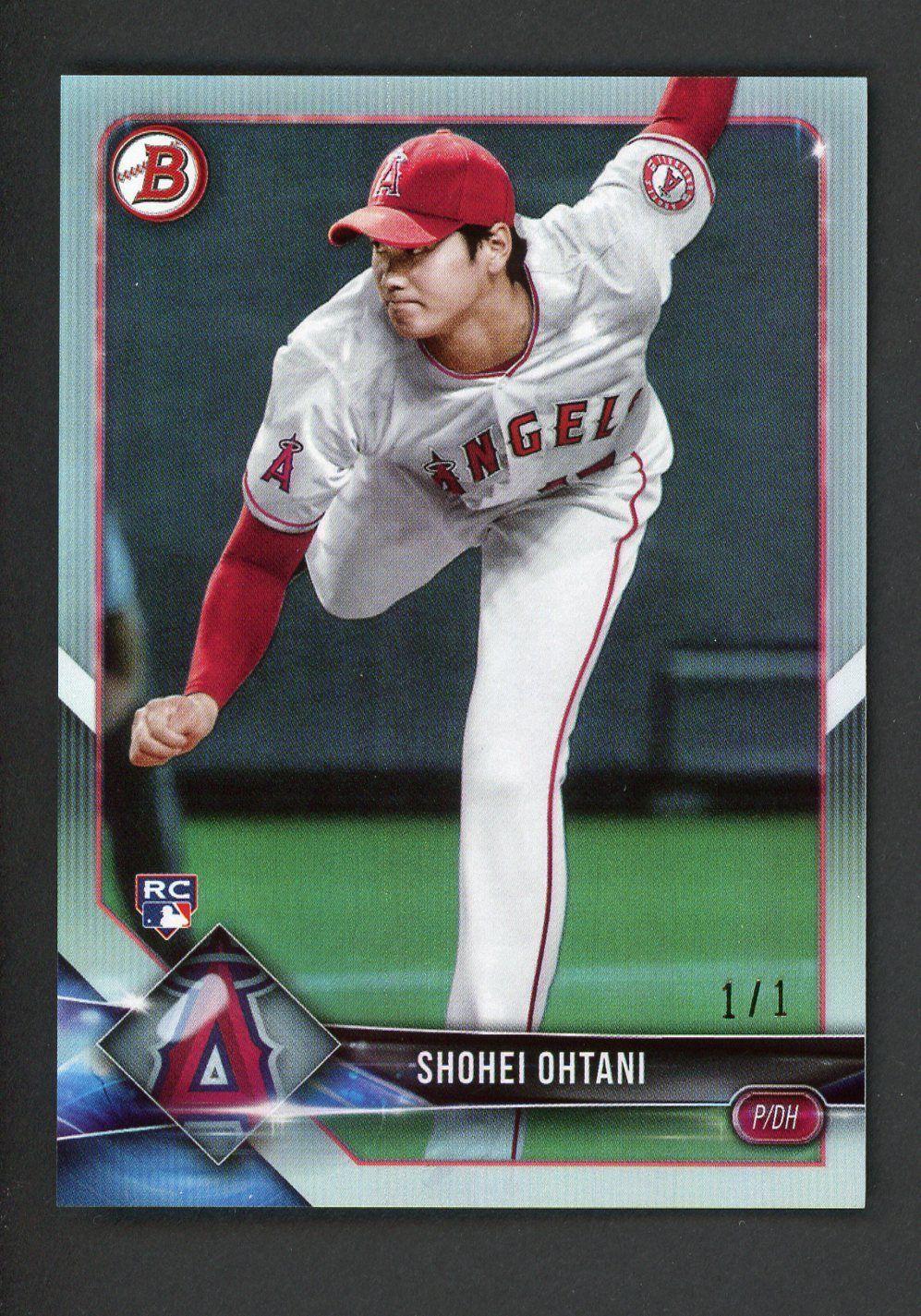 2018 Bowman Platinum Foil 49 Shohei Ohtani Angels Rc Rookie